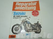 Manuel de réparation SUZUKI VS 1400 Intruder ab 1987 5185