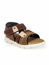 Khadim's Baby Bonito Brown Floater Sandals