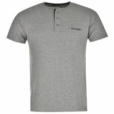 T-Shirt Col Boutonné Homme PIERRE CARDIN Taille S Neuf
