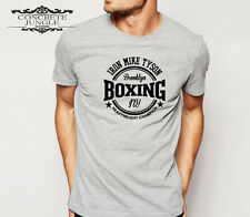 IRON MIKE TYSON T-SHIRT_BROOKLYN_GYM_BOXING_ROGUE_SWAG_HIP HOP_LEGEND_ICONIC TEE