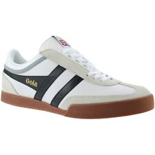 Gola Super Harrier Leather Shoes - White / Black