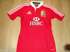British and Irish Lions Australia 2013 Women's Red Rugby Shirt Jersey HSBC L