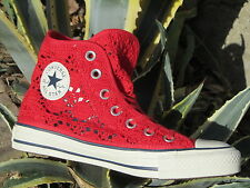 Scarpe Converse All Star CT Hi Specialty Crochet 552998c sneakers donna Red Pizz