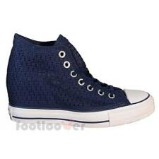 Scarpe Converse All Star Lux Canvas 552696c donna Blue Dress Crochet