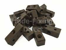 Brown Modesty Bolcks Furniture, Cabinet & Cupboards Joint Connector Blocks Fixit