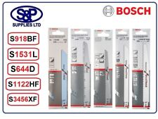 BOSCH RECIPROCATING SAW BLADES 5 / PACK  S644D, S1531L, S918B, S1122HF, S3456XF