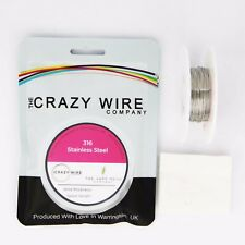 0.6mm (22 AWG) - 316 Marine Grade Stainless Steel Wire - Various Spools