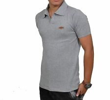 Mens Flat Knit Fabric Polo Neck Half Sleeve T Shirt by Tendency ~Slim Premium~