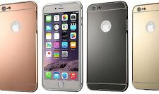 New Apple iPhone Case Metal Bumper Frame Cover Hard Back Shell Ultra Thin Panel