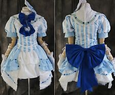 a-231 VOCALOID Ruka Luka blau LOLITA Cosplay Kostüm costume Kleid dress nach Maß