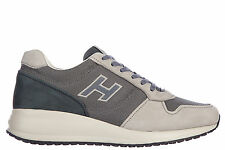 HOGAN SCARPE SNEAKERS UOMO IN PELLE NUOVE INTERACTIVE N20 BLU SHOES MEN'S TR C44