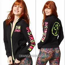 Zumba Team Zumba Instructor Zip Up Jacket Jumper Cardigan Zin Exclusive!! S M L
