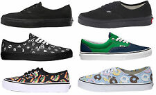 VANS scarpe Authentic Era Gore studs late night nere donuts hamburger tela