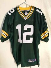 NFL Aaron Rodgers Verde Bay Packers Autentico Maglia Da Football Americano