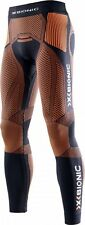 X-BIONIC RUNNING THE TRICK Pants Long MAN Black-Orange
