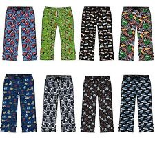 Mens Pyjamas Lounge Bottoms Pants Trousers PJs Batman Marvel Avengers Star Wars
