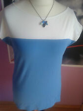 MARC CAIN LÄSSIGES SHIRT MIT COLOUR BLOCKING EFFEKT Gr  N5/42 SALE %%% NEU!