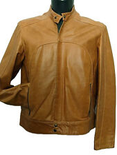 Giubbotto uomo Vera Pelle Tg. IT 50 54 Made in Italy New Leather Jacket