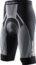 X-Bionic Biking The Trick Pants Short MAN Endurance PAD Black-White