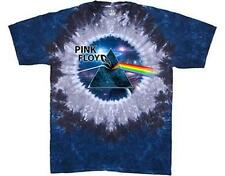 OFFICIAL LICENSED - PINK FLOYD - ABYSS TIE DYE DARK SIDE OF THE MOON T SHIRT*