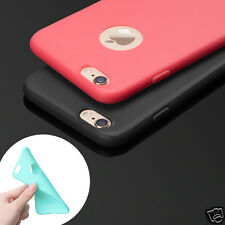 Ultra Thin Cute Candy TPU Silicone Rubber Soft Back Case Cover For iPhone 6 6s