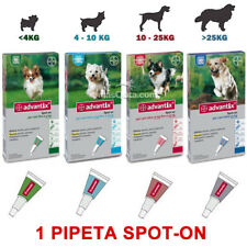 ADVANTIX CANI - ANTIPARASSITARIO, ZANZARA LEISHMANIOSI - 1 PIPETTA