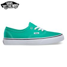 "ZAPATOS VANS ""Authentic"" EMERALD Gn SKATE Classic NUEVOS hombre mujer LONA"