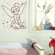Tinkerbell Fairy Wall Sticker Girl Room Vinyl Art Angel Wall Transfer bn63