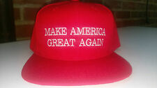 Trump Hat Cap High Quality Structured Red or Camo adjustable new snap back hat