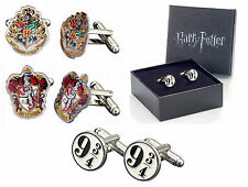 Harry Potter Oficial Plateado Gemelos SET HP Película Regalo