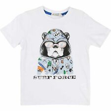 Billybandit T-Shirt Hund Bulldogge Surf Force 104 110 122 128 134 140 146 152