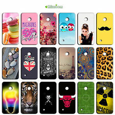 CUSTODIA COVER MORBIDA CASE IN TPU SILICONE PER NOKIA LUMIA 530 N530 FANTASIA H