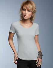 Women´s Featherweight V-Neck Damen T-Shirt | Anvil