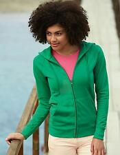 Lady-Fit Lightweight Hooded Sweat Jacket | Fruit of the Loom
