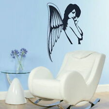 Half Fairy Angel Wall Stickers! Girls Room Vinyl Art / Vinyl Wall Transfer NE33