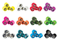 Ridge 70mm 78A Soft Longboard Skateboard Wheels Set with ABEC7 bearings And LED