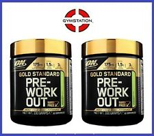 2 x Optimum Nutrition Gold Standard 100% Pre Workout 30 Servings All Flavours