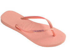 Havaianas Slip Logo Metallic Womens Flip Flop - Light Pink