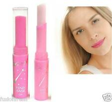 20 Pieces Pink Magic Strawberry Flavour Lip Gloss Balm Changeable Color Lipstick