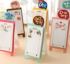 Novelty Japanese Style Cute Animal Sticky Notes Sticker Marker Memo Notepad