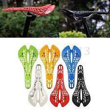 UK BICI BICICLETTA SELLA SEDILE MTB STRADA Fixed Gear Saddle Seat MTB Hollow