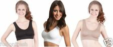 6 Pieces Combo Pack Ladies Sports Air Bra Seamless Slim Lift No Clips No Straps