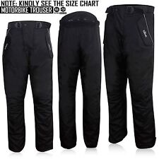 Mens Motorbike Trousers Waterproof Thermal Textile Protector Motorcycle Pants