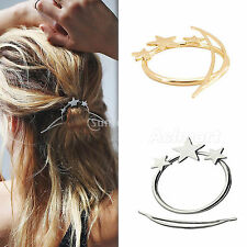 Women's Chinese Style Updo Hoop Hair Stick Pin Accessories Gold / Silver