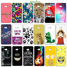 CUSTODIA COVER CASE MORBIDA IN SILICONE TPU PER HTC ONE M7 FANTASIA  E