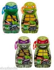 GEL DE BAÑO Y CHAMPU TORTUGAS NINJA 400ml SHOWER GEL & SHAMPOO NINJA TURTLES 1un