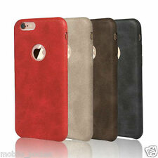 Premium Soft Leather Back Case Cover For Apple iPhone 6 / 6S / 5S / 5SE