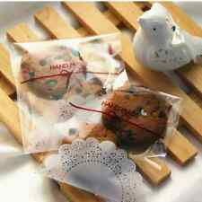 Self stick cookies bags paper dollies craft bake gift muffin sweet party new
