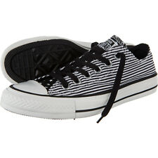 Converse Chuck Taylor All Star Black/White Stripes Stars Shoes Sneakers 144830
