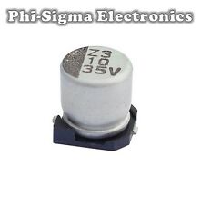 SMD/SMT Electrolytic Capacitors (Packs of 10) - Various Values / Voltages